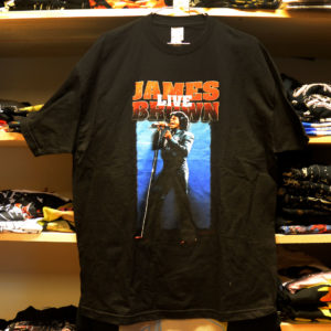 James Brown live tee