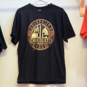 Parliament Chocolate City tee