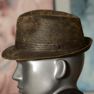 Trilby faux leather